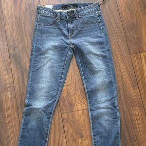 Dark blue slim fit joe's jeggings